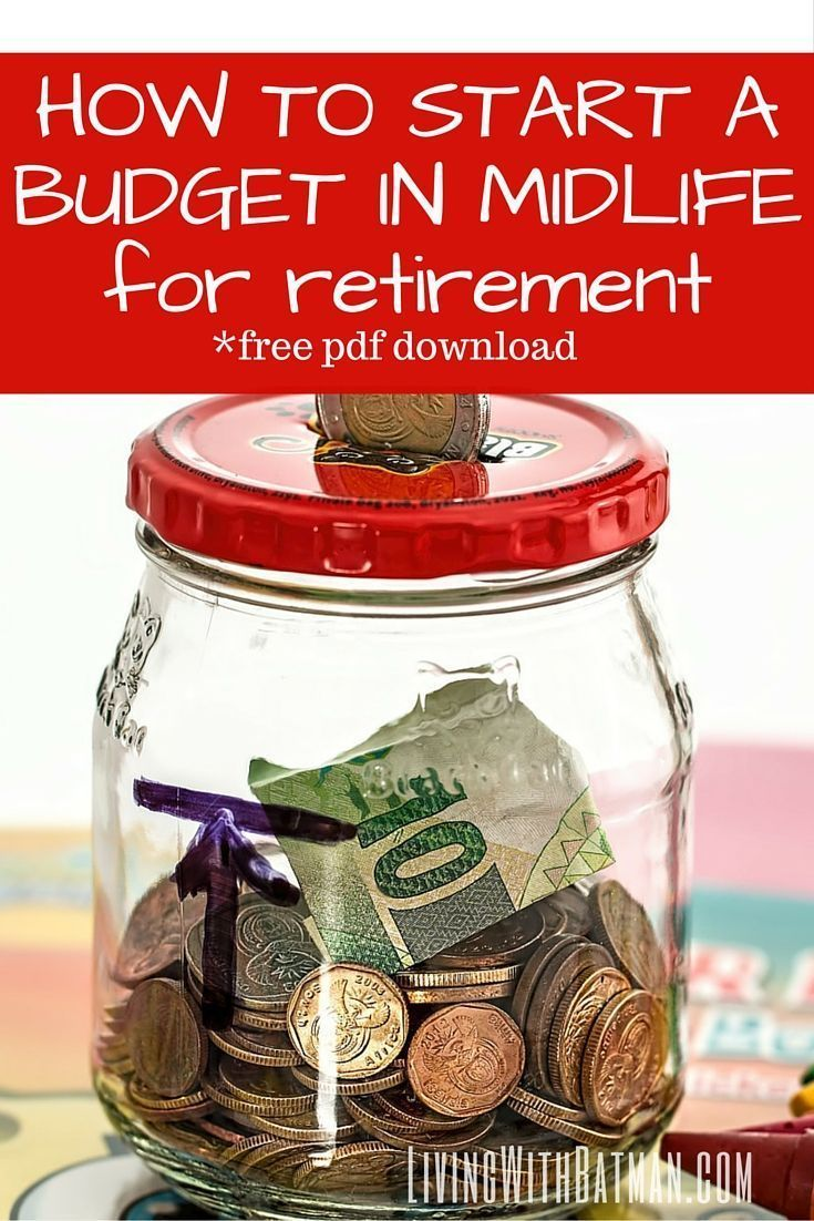 Even if you have never, ever kept track of your money, you need to start a budget in midlife if you have any hopes of realizing the retirement you have dreamed of your entire life. And honestly, it doesn't have to be complicated or mega restricting. All y