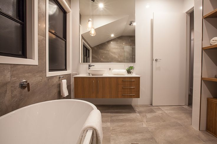 One of our favourite bathrooms! So proud! #Synergy_BD #interiordesign #buildingdesign #newhome #bathroom
