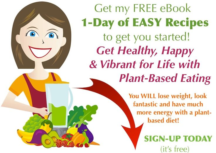 AlmostRawVegan.com - Get your FREE eBook. Get Healthy, Happy & Vibrant for Life. Learn how to incorporate Green Smoothies & other delicious plant-based foods into your day.