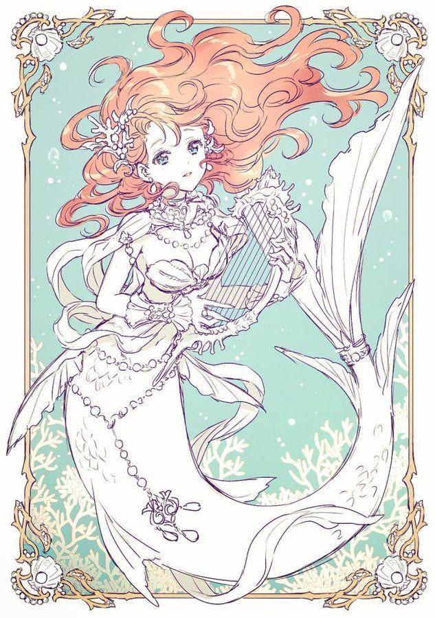 nardack on twitter in 2020 anime mermaid mermaid art disney princess art anime mermaid mermaid art disney princess art