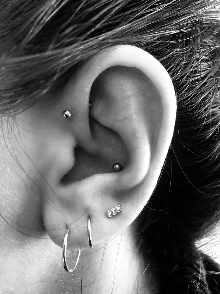 Conch Piercing Forward Helix Piercing – #conch #He…