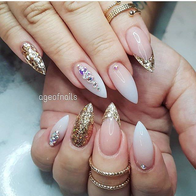 Stiletto Nail Art 2013: 52 Coole Und Stilvolle Stiletto-Nägel-Designs Für 2019