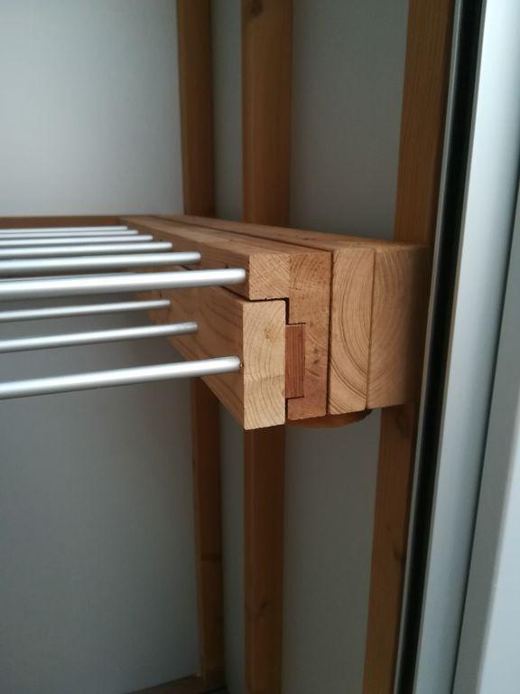 Tendedero De Madera Muebles Diseño Arquitectura Towel Rack Rack Towel