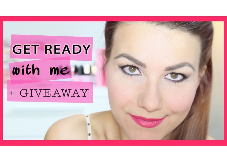 Get Ready with me Semi Sweet Chocolate Bar + Giveaway ♥