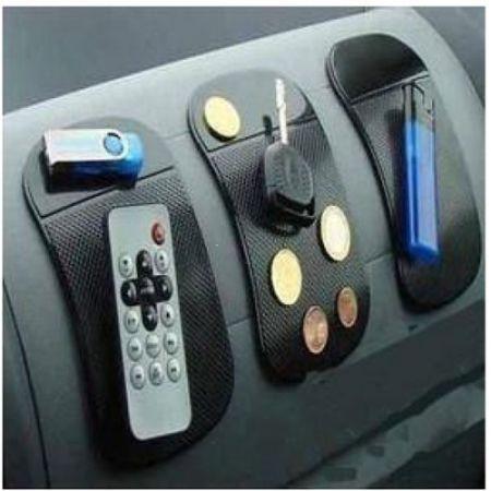 Small Silica Gel Anti-Slip Car Dashboard Non-slip Mat Magic Sticky Pad for Phone PDA mp3/4 Black