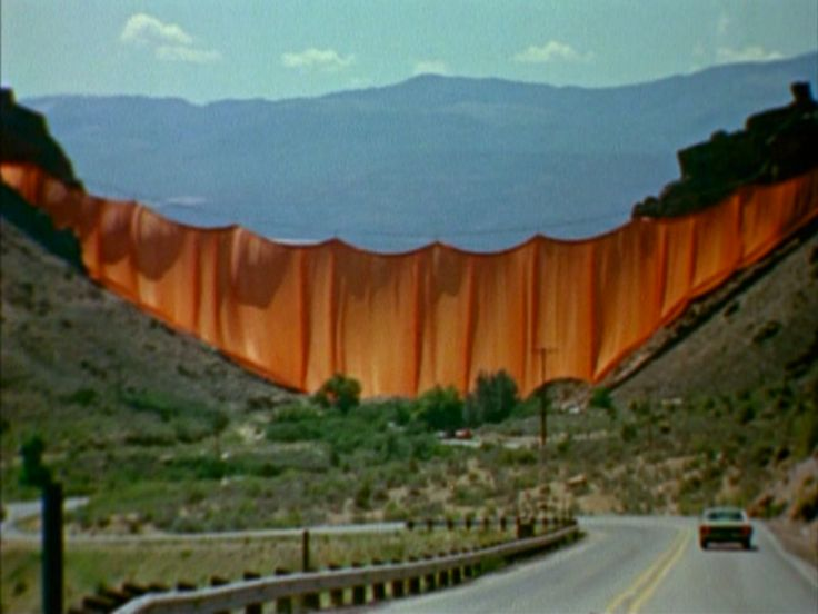 Christo's Valley Curtain   Film Review – DINCA