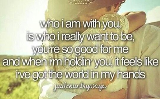 Who I Am With You  Is Who I Really Want To Be  You U0026 39 Re So