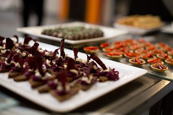 The Baron's Palate Pop Up | Open Journal.  Our INFINITUM AW13 Collection VIP Soiree. Fractal themed canapes. Melbourne 2012.