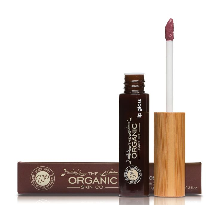 Rich Pink Natural Lip Gloss