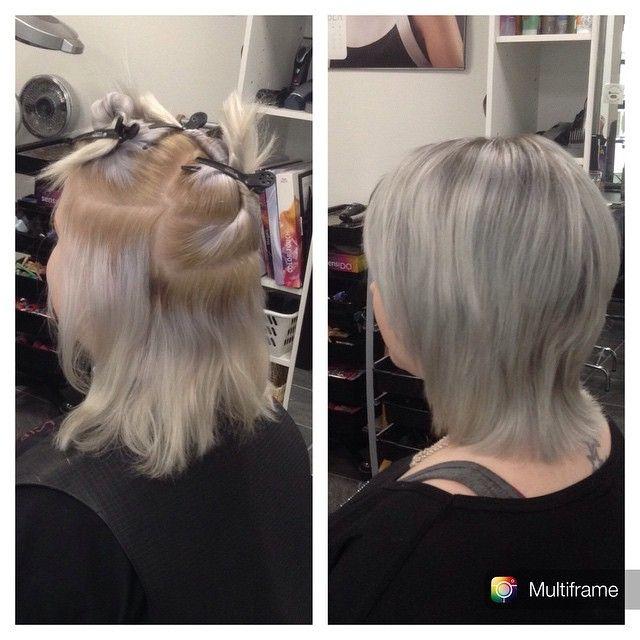 #grannyhair #grey #harmaa #hair