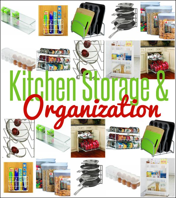 Kitchen Organization Tools: Organize Your Kitchen Cabinets, Pantry, And Fridge With