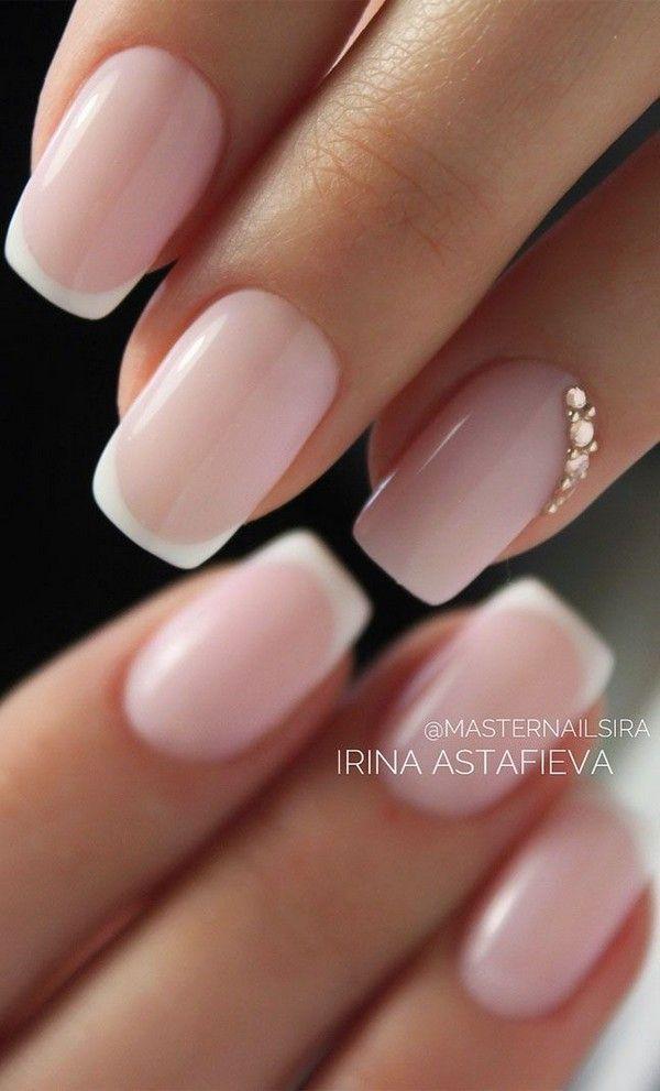 Top 20 Wedding Nail Art Design Ideas In 2020 Bride Nails Wedding Nail Art Design Short Acrylic Nails