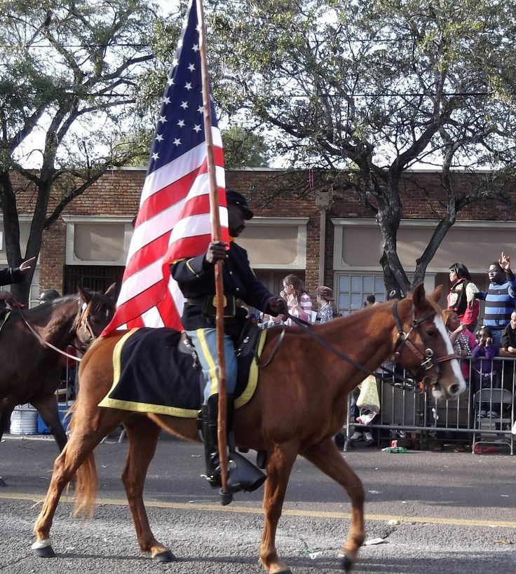 Buffalo Soldiers Mobile AL Mardi Gras Parade