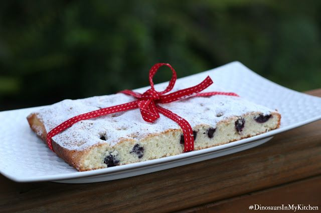 Lemon and blueberry financier/friands