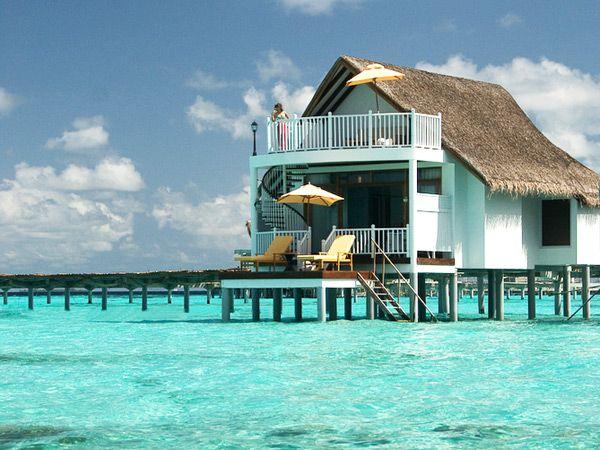 One day...Centara Grand Resort in Maldives