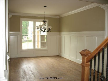 17 best images about paneling on pinterest stains trim for Dining room molding panels