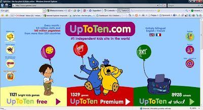Blog de los niños. Juegos para practicar inglés. Free educational games for learning English.
