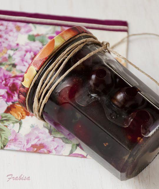 La cocina de frabisa c mo hacer conservas de fruta en - Como hacer melocoton en almibar ...