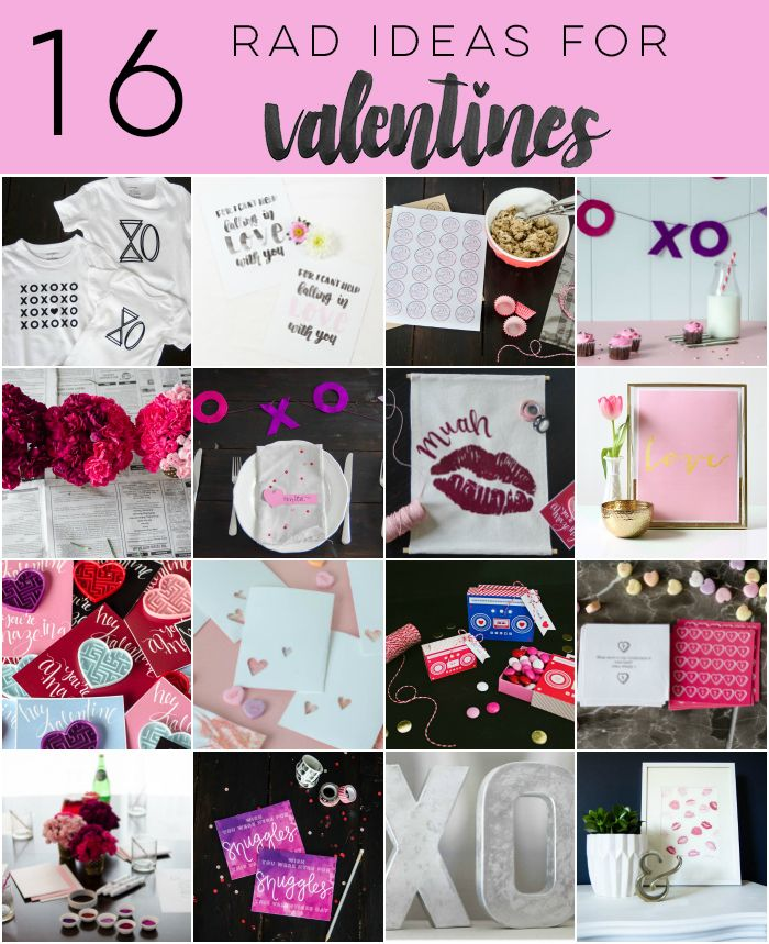 16 rad decorations and printables for valentines