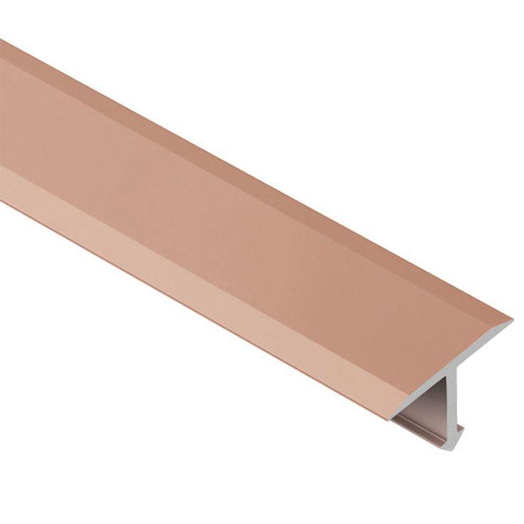 Schluter Reno T Satin Copper Bronze 1in Anodized Aluminum