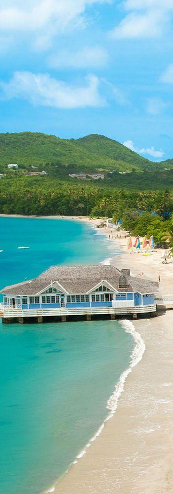 Sandals Halcyon Beach - Santa Lucia Island