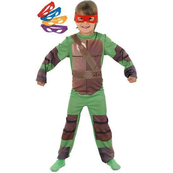 Ninja Turtle Kostuum Kind