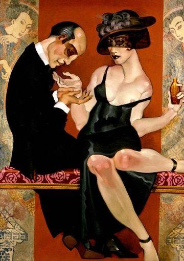 Il mondo di Mary Antony: L'arte del profumo di Eisemberg nei dipinti di Juarez Machado