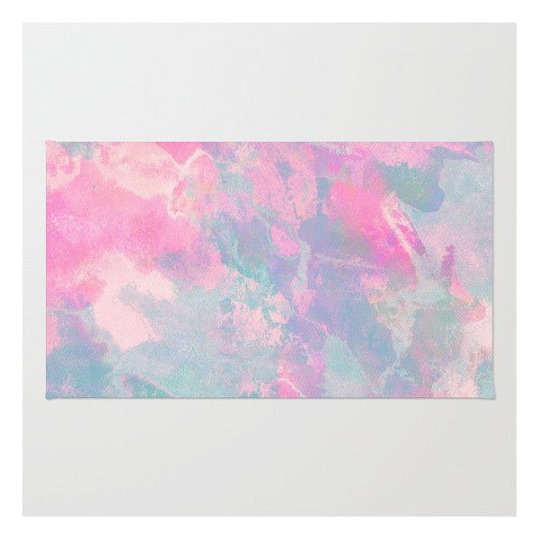pastel sky rug 28 liked on polyvore featuring home rugs backgrounds - Washable Rugs