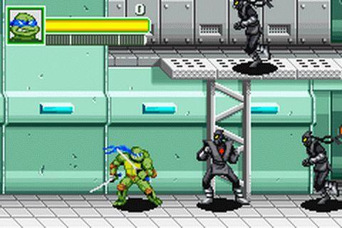 Play Teenage Mutant Ninja Turtles Nintendo Game Boy Advance online | Play retro games online at Game Oldies