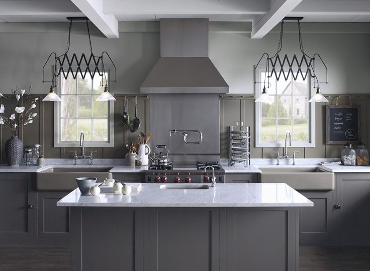 1000 ideas about benjamin moore sparrow on pinterest for Best paint sheen for kitchen cabinets