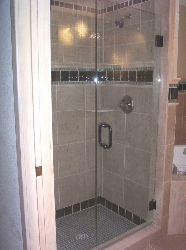 20 Best Shower Doors Images On Pinterest Glass Showers