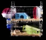 Custom acrylic cool hamster cages reptile terrarium for sale PCK-008