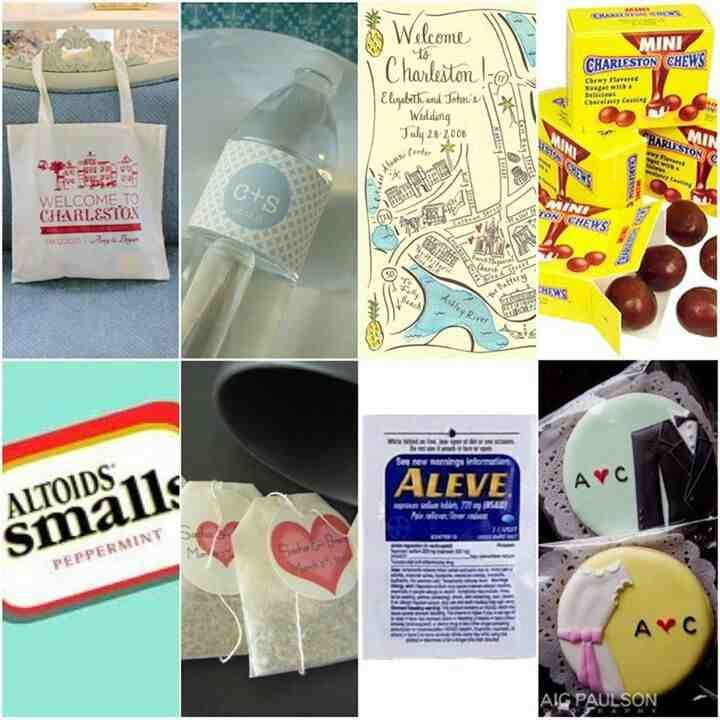 43 best wedding gift bags images on Pinterest | Wedding gift bags ...