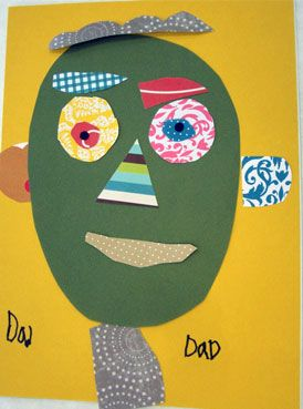 Preschool Crafts for Kids*: Collage Face Craft
