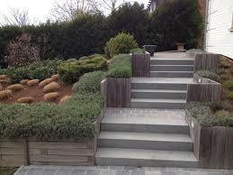escalier en pav s de pierre bleue et bordure en azob e escalier pinterest. Black Bedroom Furniture Sets. Home Design Ideas