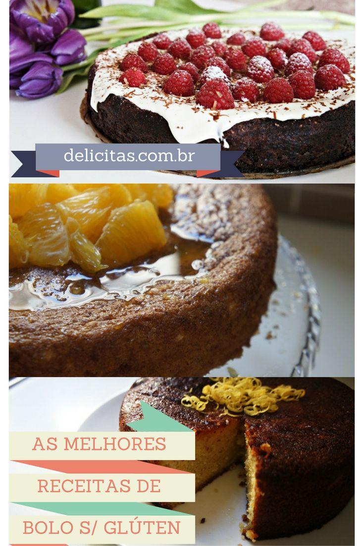 Saiba como fazer bolos deliciosos com farinha de arroz, polenta, amêndoa e também bolo de batata.