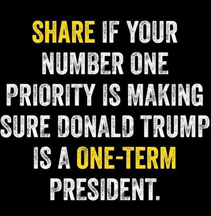 """Just like Turtle Face Mitch McConnell said about President Obama the day he was elected: """"Our Priority Is Making Sure Trump Is A One Term President."""" Seems fair to me!!"""