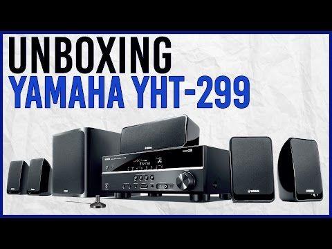 Unboxing Teatro En Casa Yamaha YHT 299 4K 5.1 DTS - YouTube
