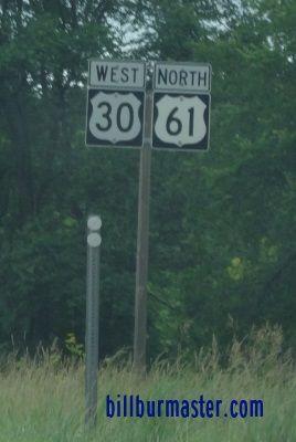 U.S. Federal Route 61; Clinton County, Iowa