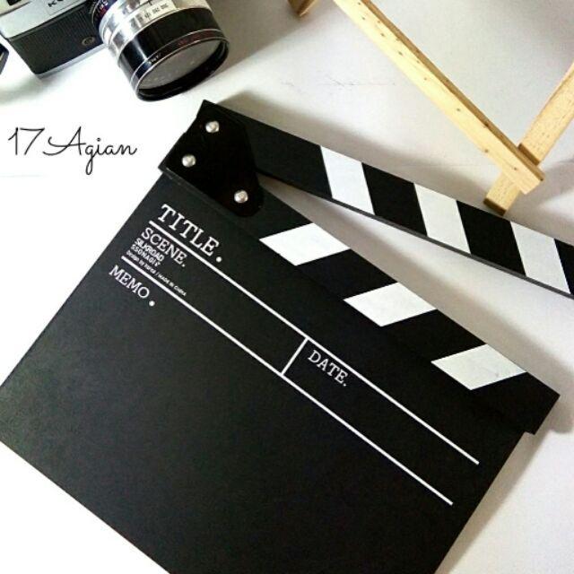 ขาย Director board ป้ายกำกับภาพยนตร์สุดแนว (พร้อมส่ง!!) ในราคา ฿245 ซื้อได้ที่ Shopee ตอนนี้เลย!http://shopee.co.th/nupangko/19283965  #ShopeeTH