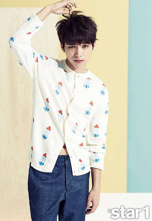 Infinite Woohyun - @Star1 Magazine July Issue '14