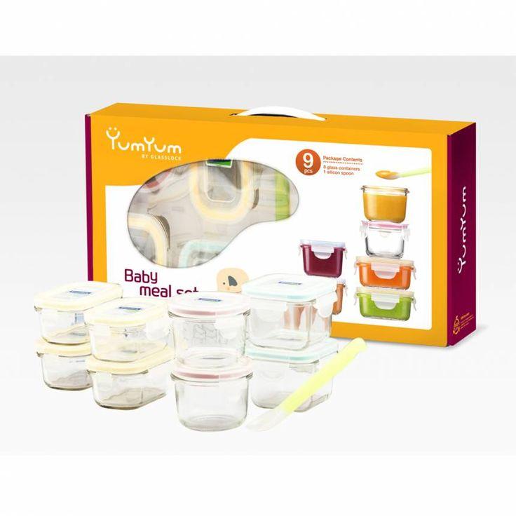 Glasslock: Einzigartige Glas Frischhaltedosen für Babynahrung. Schadstofffre✓ hygienisch✓ auslaufsicher✓ - Hier im Online Shop von mehr-grün bestellen.
