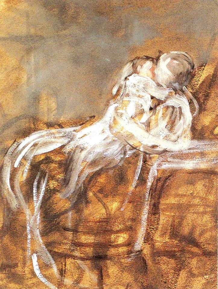 Nicolaos Gyzis - Maternity Νικόλαος Γύζης - Μητρότητα, (σπουδή)