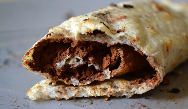 Boekweit pannenkoeken met banaan en cacao - Eerlijker Eten