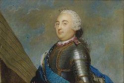 Louis-Philippe d'Orléans, dit « le Gros », duc de Chartres puis duc d'Orléans, de Valois, de Nemours et de Montpensier, premier prince du sang, est né à Versailles le 12 mai 1725 et mort au château de Sainte-Assise à Seine-Port le 18 novembre 1785.