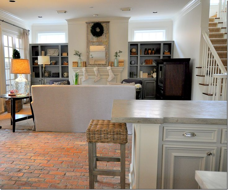 Brick Flooring Kitchen: 17 Best Images About Concrete Floors Do It Yourself On