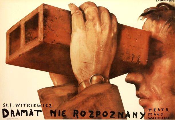 Unidentified drama Dramat nierozpoznany Czerniawski Jerzy Polish Poster