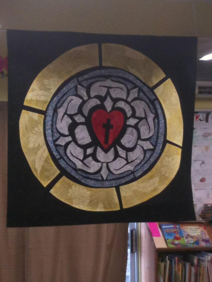 My First Graders made this banner for Reformation Day. We ...