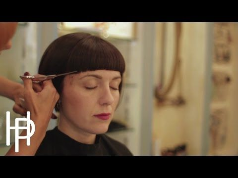 The Bob Haircut ( a Short bangs ) I have no idea why this music was selected for the video...