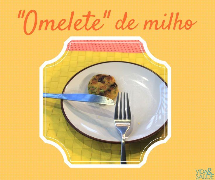Omelete de Milho